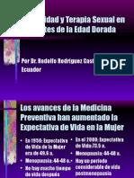 Sexual Id Ad en La Tercera Edad. Dr. Rodolfo Rodríguez