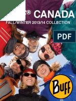 Buff Catalogue Fall Winter 2014