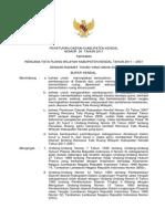 Peraturan Daerah Kabupaten Kendal Nomor 20 Tahun 2011 Tentang Rencana Tata Ruang Wilayah Kabupaten Kendal Tahun 2011 - 2031