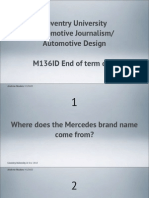 Automotive Quiz