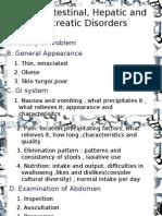 Gastrointestinal,Hepatic, Pancreatic Disorders