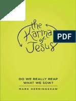 The Karma of Jesus