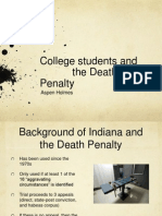 death penalty ppt