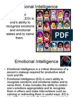 Organizational Behavior - Emotional Intelligence