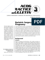 Cirugia Bariatrica en Gestantes