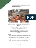 Dissertação analise risco tuneis