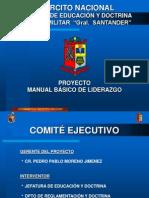 EXPOSICIÓN MANUAL DE LIDERAZGO