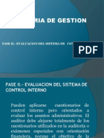 Auditoria de Gestion Fase II