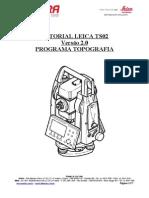 Tutorial TS02 Programa Topografia Versão 2.32