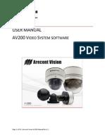 AV200 User Manual English Rev1.1
