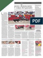 El Comercio(Lima-Peru)Pag Toros 2 Dic 2013(Pag A30)