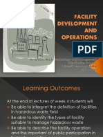 3.Facility Development and Operations