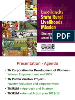 CEO Tamil Nadu State Rural Livelihood Mission Statistics
