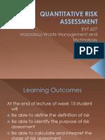 9.Quantitative Risk Assessment