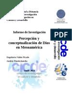 percepción y conceptualización de dios en Mesoamérica