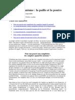 Frédéric Lordon - Conspirationnisme la paille et la poutre