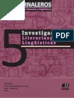 Jornaleros 05 - Investigaciones Literarias y Lingüísticas