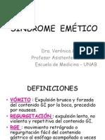 9. Síndrome emético y RGE