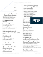 SONGS AT THE FORGE