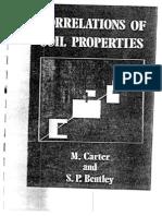 Correlations of Soil Properties