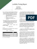 accessibilty report final draft