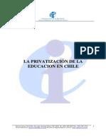 Privatizacion Educacion Chile