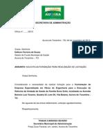 EDITAL DE TOMADA DE PREÇOS Nº 001-2013 FMS