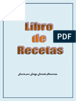 Libro de Recetas de Evelyn Estrada