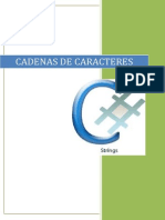 Informe de Cadenas de Caracteres