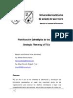 Planificación Estrategica de las Tics