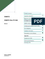 Box 840 Manual
