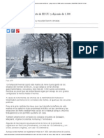 Temporal cubre de nieve noreste de EE.UU. y deja más de 1.300 vuelos cancelados _ ELESPECTADOR