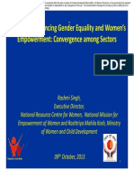 Session 1 -GOI role in advancing gender equality and women's empowerment