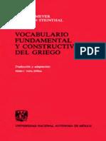 Vocabulario Fundamental y Constructivo Del Griego