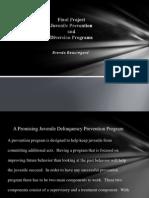 Juvenile PreventionandDiversion Programs