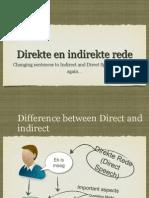 Direkte en Indirekte Rede