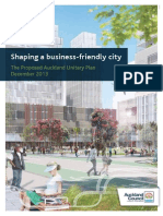 Shaping a Business Friendly City