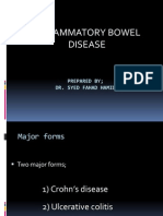 Inflammatory Bowel Disease Ward Ppt