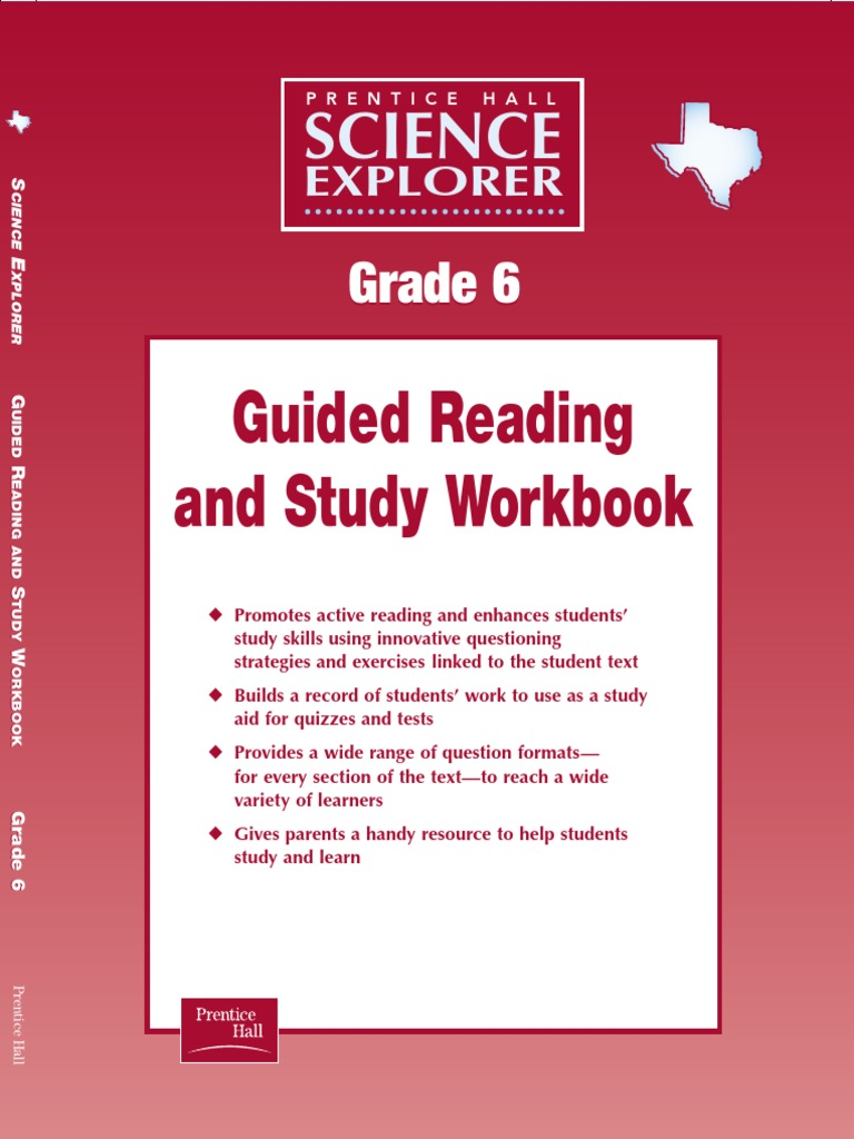 Workbooks physical science guided reading and study workbook : Science Explorer Guided Reading Workbook Gr6 | Gases | Force