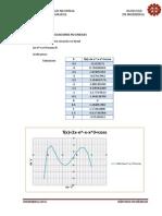 Informe N°3 solucion de ecuaciones y sistemas de ecuaciones