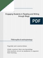 Using blogs in teaching English