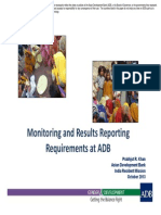Session 4 - Monitoring and Results Reporting Requirements of ADB for Gender EqualityResults