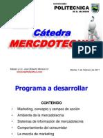 Catedra Upes Mercadotecnia 2011 Material II