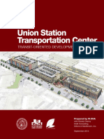 Union Station TOD Plan New Haven