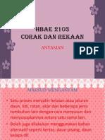 hbae2103 corak dan rekaan