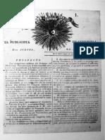 El Publicista de Venezuela. 1811
