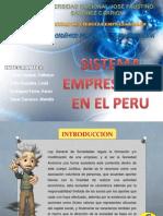 Sistema Empresarial en El Peru
