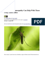 Insect Bite Homeopathy