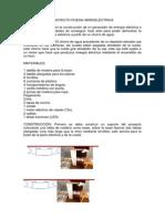PROYECTO RUEDA HIDROELÉCTRICA