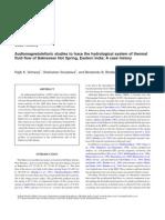 Audiomagnetotelluric Studies To